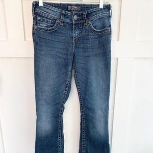 Silver Jeans Mens Zac Surplus Sraight Leg Regular Fit Jean Dark Blue 29X32